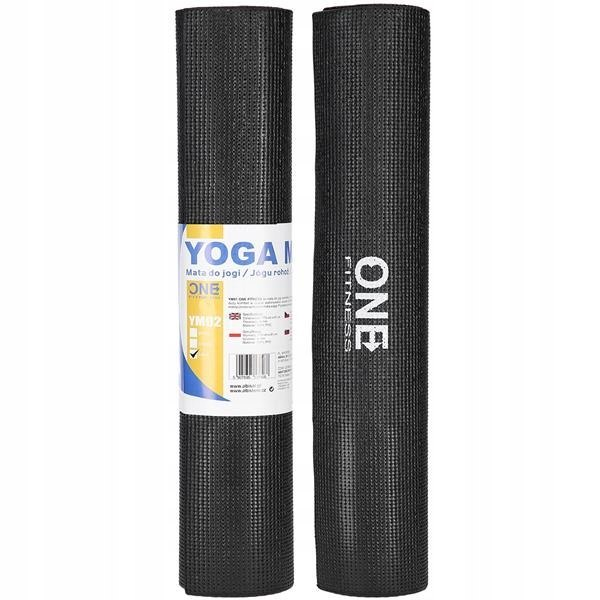 Mata do ćwiczeń jogi yoga fitness 6mm YM02 173x61